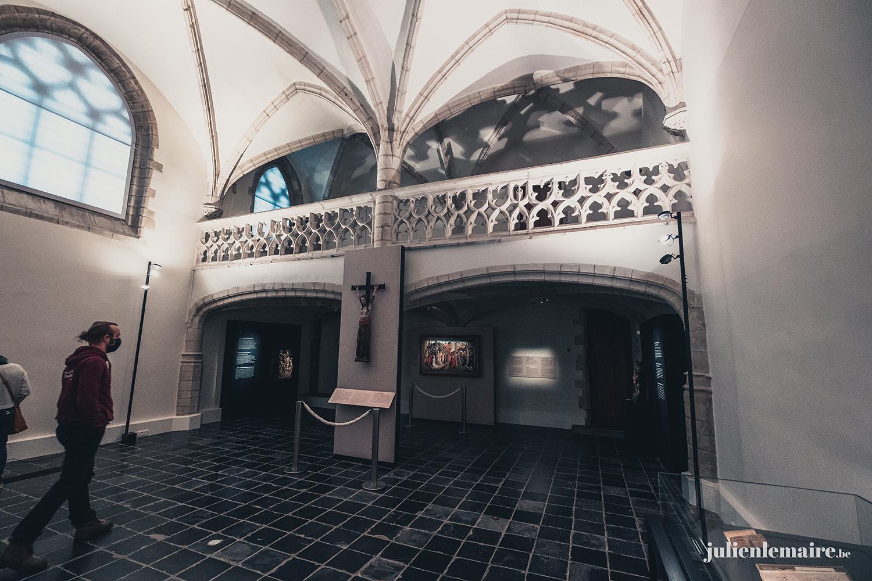 Visite de l'exposition sur les manuscrits des ducs de Bourgogne à la KBR museum