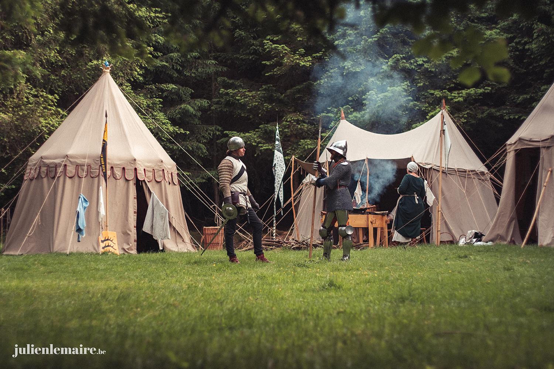 Campement off à Suxy